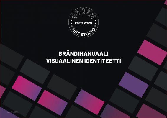 1urban Brand Manual Visual Identity