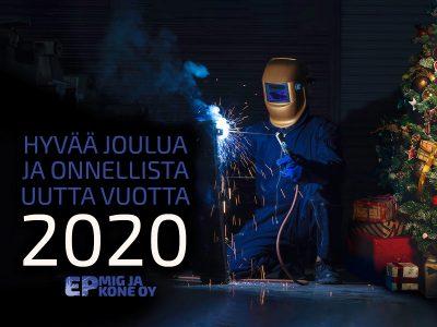 Haavaa Joulua Ja Onnellista Uutta Vuotta 2020 T. E P Mig Ja Kone Oy