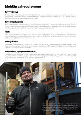 Plastweld historiikki, yritysesite Vahvuudet - Viuleva referenssi