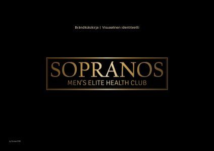 Sopranos Brand Manual & Visual Identity V1
